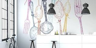papier peint cuisine moderne papier peint cuisine moderne papier peint pour cuisine couverts