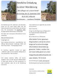 Landhausk He Einladung Zur Wanderung Am 21 September 2014 U2013 Fdp Harburg Land