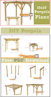 Attached Pergola Plans by Best 10 Pergola Carport Ideas On Pinterest Carport Covers