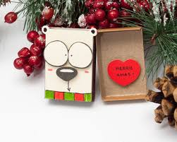 funny christmas card matchbox dog christmas greeting card