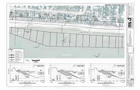plan view sjp beach renourishment project