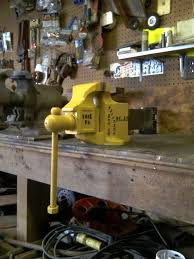 nice holland no 35 bench vise posted from the garage journal