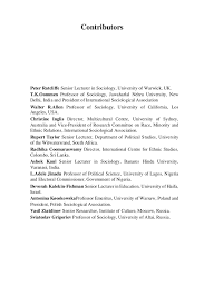 race ethnicity and nation international perspectives on social confl u2026