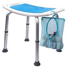 amazon com medokare shower stool with padded seat shower seats