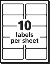 avery label 5263 template avery trueblock permanent inkjet shipping labels 2 x 4 white pack