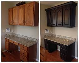 dark chocolate milk painted kitchen cabinets stains and stained