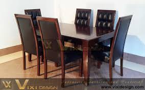 Dining Leather Chair Dining Room Set Modern Dining Chair Table Vixi Design