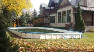 backyard rinks by iron sleek home outdoor decoration