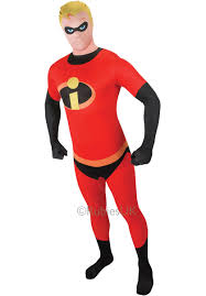 2nd skin halloween costumes mr incredible costume 2nd skin fancy dress escapade uk