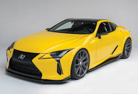 lexus lc pricing sema 2016 customized lexus lc 500 packs 525 horsepower