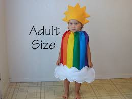 french fries halloween costume rainbow costume sunshine clouds halloween costume teen