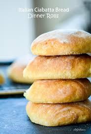 italian ciabatta bread rolls recipe chefdehome com