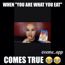 Fatass Meme - makeup inspired by junk food packaging is giving us life and snack