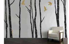 Wall Mural White Birch Trees Birch Tree Wall Decals Chocaric Youtube