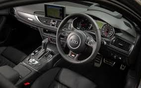 black audi car audi a6 review one of the quietest cars on sale