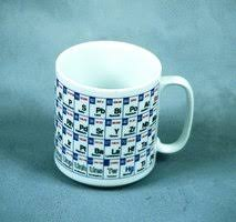 Periodic Table Mug Periodic Table Coffee Mug Porcelain 15 Oz Sigma Aldrich