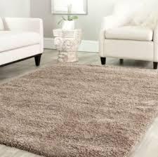solid taupe tan shag area rug rugs 4 u0027 x 6 u0027 5 u0027 x 8 u0027 8 u0027 x 10 u0027 10 u0027 x
