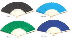 asian fans asian silk fans set of 10 palm and bamboo fans