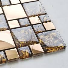 wholesale backsplash tile kitchen metal mosaic tile design wholesale backsplash tile walls glossy