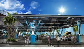 Solar Canopy by Fpl To Install 7 Million Solar Energy Project At Daytona