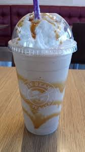 Coffee Bean Blended another caramel blended coffee with less caramel picture of