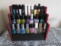 diy nail polish rack holder youtube