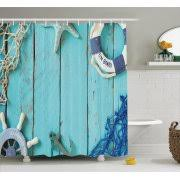 Vintage Style Shower Curtain Ambesonne Shower Curtains