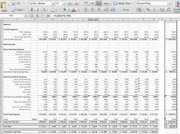 Pro Forma Financial Statements Excel Template Sywtoabp Spreadsheets B C