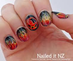 catching fire nail art quotes u0026 tutorial