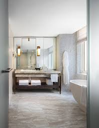 Luxury Hotels Nyc 5 Star Hotel Four Seasons New York Yabu Pushelberg Uses Muted Hues At Four Seasons Downtown New York