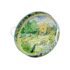 emma bridgewater halloween emma bridgewater in the garden tea tray designed by matthew rice