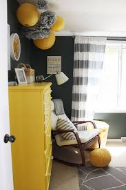 Gray And Yellow Nursery Decor Gray And Yellow Nursery Ideas Sustainablepals Org