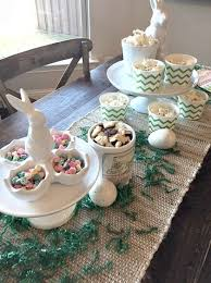 Easter Banquet Table Decorations by 142 Best Decorating For Easter Images On Pinterest Easter Eggs
