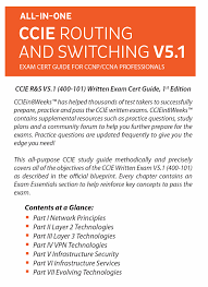 ccie r u0026s 400 101 v5 1 exam cert guide for ccnp u0026 ccna professionals
