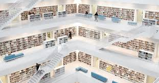 stuttgart library my latest photograph shows the inside of the