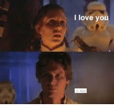 Star Wars Love Meme - i love you love meme on me me