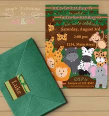 jungle birthday invitations alanarasbach com