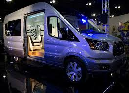 ford transit rv ford transit skyliner concept is the new york auto show u0027s party van