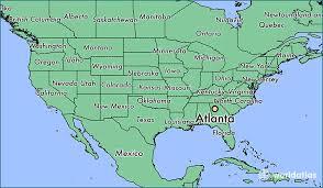 atlanta city us map where is atlanta located in usa where is atlanta ga where