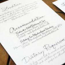 wedding invitations letter letter wedding invitation feel wedding invitations