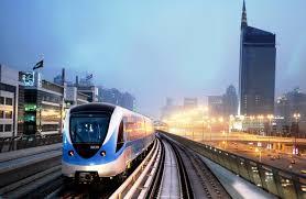 dubai metro ride hd red line youtube