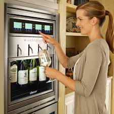 an automated temperature controlled wine dispenser for the home