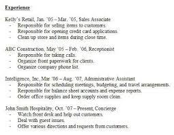 work experience resume exle resume in without experience sales no experience lewesmr