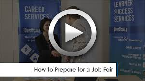 Resume For A Job Fair by Job Search Videos And Workshops