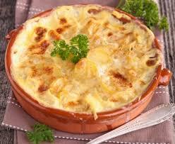 cuisine russe recette gratin aux pommes de terre à la russe recette de gratin aux