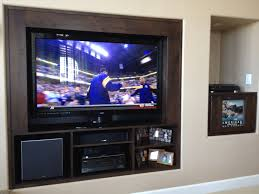 literarywondrous built in tv wall photo ideas remove wallbuilt