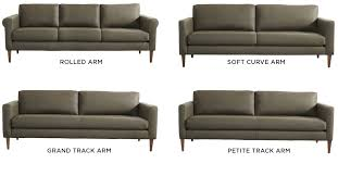 Track Arm Sofa Personalize American Leather