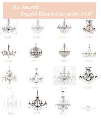 Best Crystal Chandelier Favorites Best Crystal Chandeliers Under 450