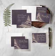 Eiffel Tower Invitations Destination Wedding Invitations That Will Mesmerize Your Guests