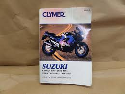 suzuki katana gsxr owners manual and other used motorcycle parts